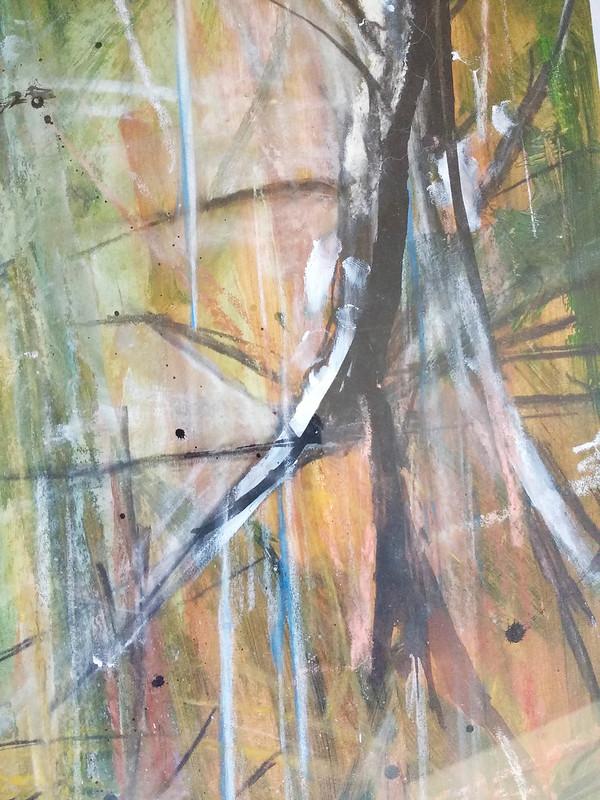 Trees_11_mixed_media_by_Gillian_Hebblewhite