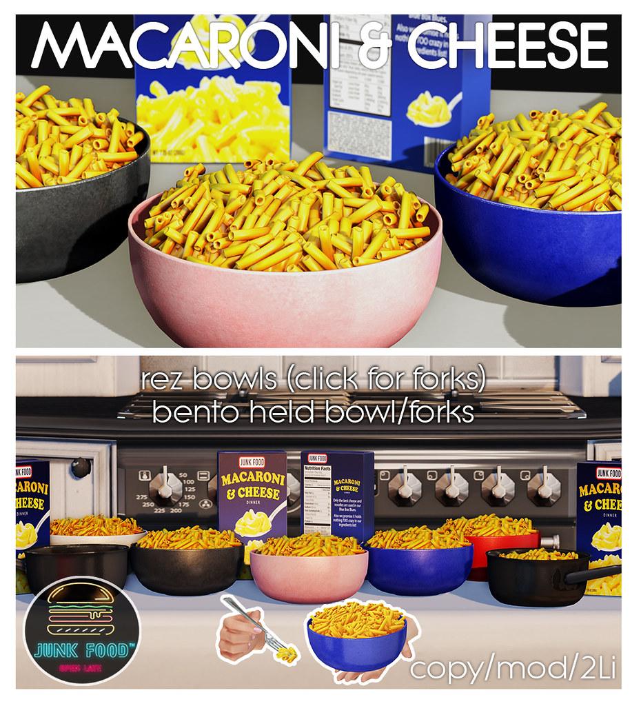 Junk Food – Macaroni & Cheese Ad
