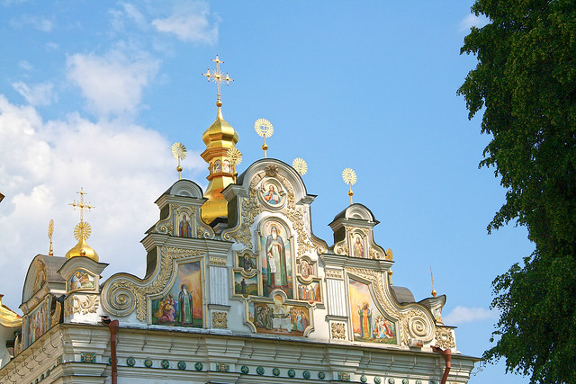 Uspenskij cathedral frescoes