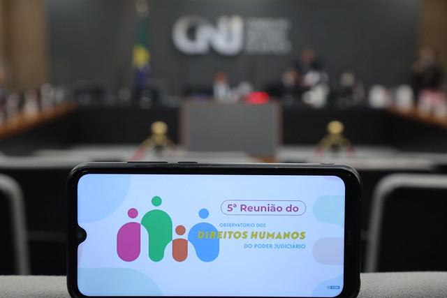 21/09/2021 5ª Reunião do Observatório dos Direitos Humanos do Poder Judiciário