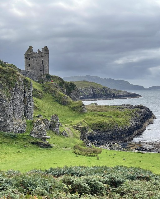 Gylen Castle, Kerrera, Scotland