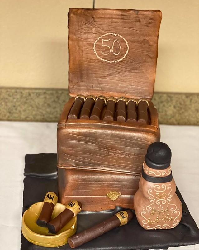 Cake by A&A Custom Cakes