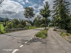 DUN150 Hauptstrasse Road Bridge over the Dünnern River, Welschenrohr-Gänsbrunnen, Canton of Solothurn, Switzerland