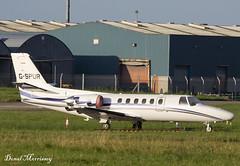 London Executive Aviation Cessna 550 Citation II G-SPUR