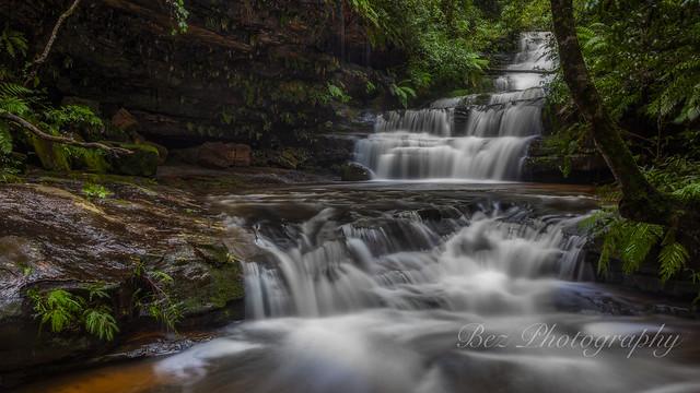 Tumbling Waters. Terrace Falls.