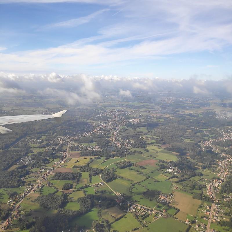 Avión a Bruselas