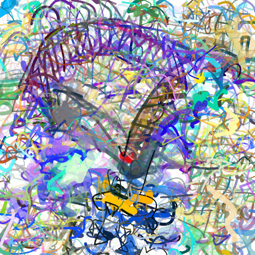 'The Sydney Harbour Bridge' CLIPDraw Text-to-Image