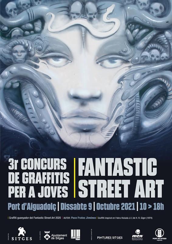 Fantastic Street Art Sitges 2021 – Sitges Film Festival