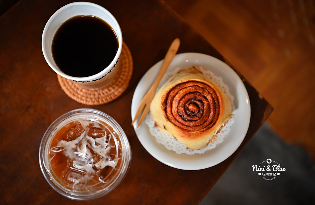 5J cafe BOB大里花市咖啡肉桂捲13