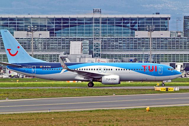 D-ATUC   Boeing 737-8K5 [34684] (TUIfly Germany) Frankfurt Int'l~D 18/04/2016