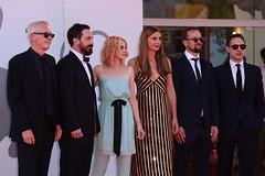 Paul Webster, Pablo Larraín, Kristen Stewart, Janine Jackowski, Jonas Dornbach, Juan de Dios Larraín