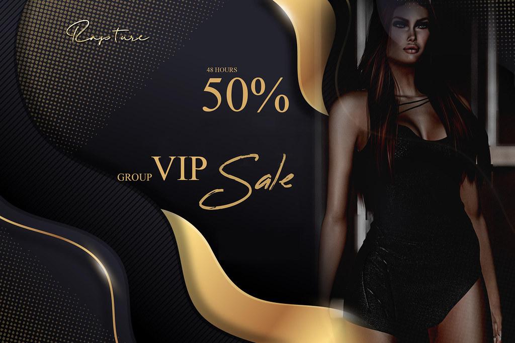 VIP Sale – 48 hours