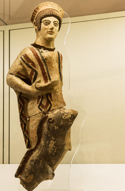Antefix: Maenad - II