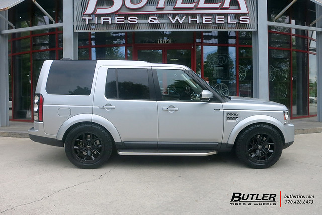 Land Rover LR4 with 20in Redbourne Morland Wheels and Toyo Open Country ATIII Tires