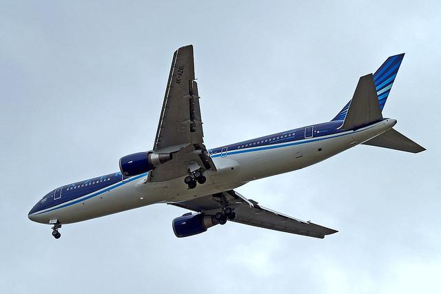 4K-AZ81   Boeing 767-32LER [40343] (Azerbaijan Airlines) Home~G 29/06/2014