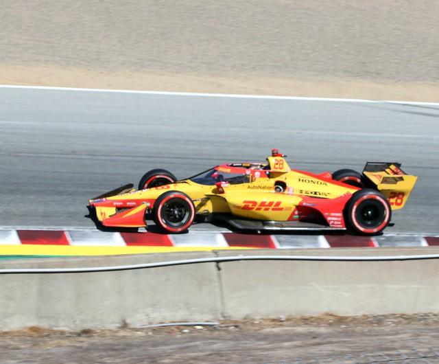 Ryan Hunter-Reay, Romain Grosjean