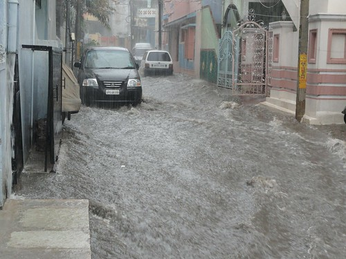 Flooding. From Linking Human Rights and Climate Change