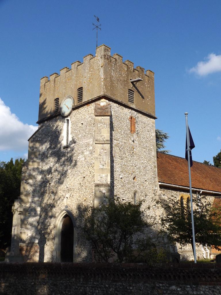 St Martin's Church, East Horsley, Surrey, 16 September 2021
