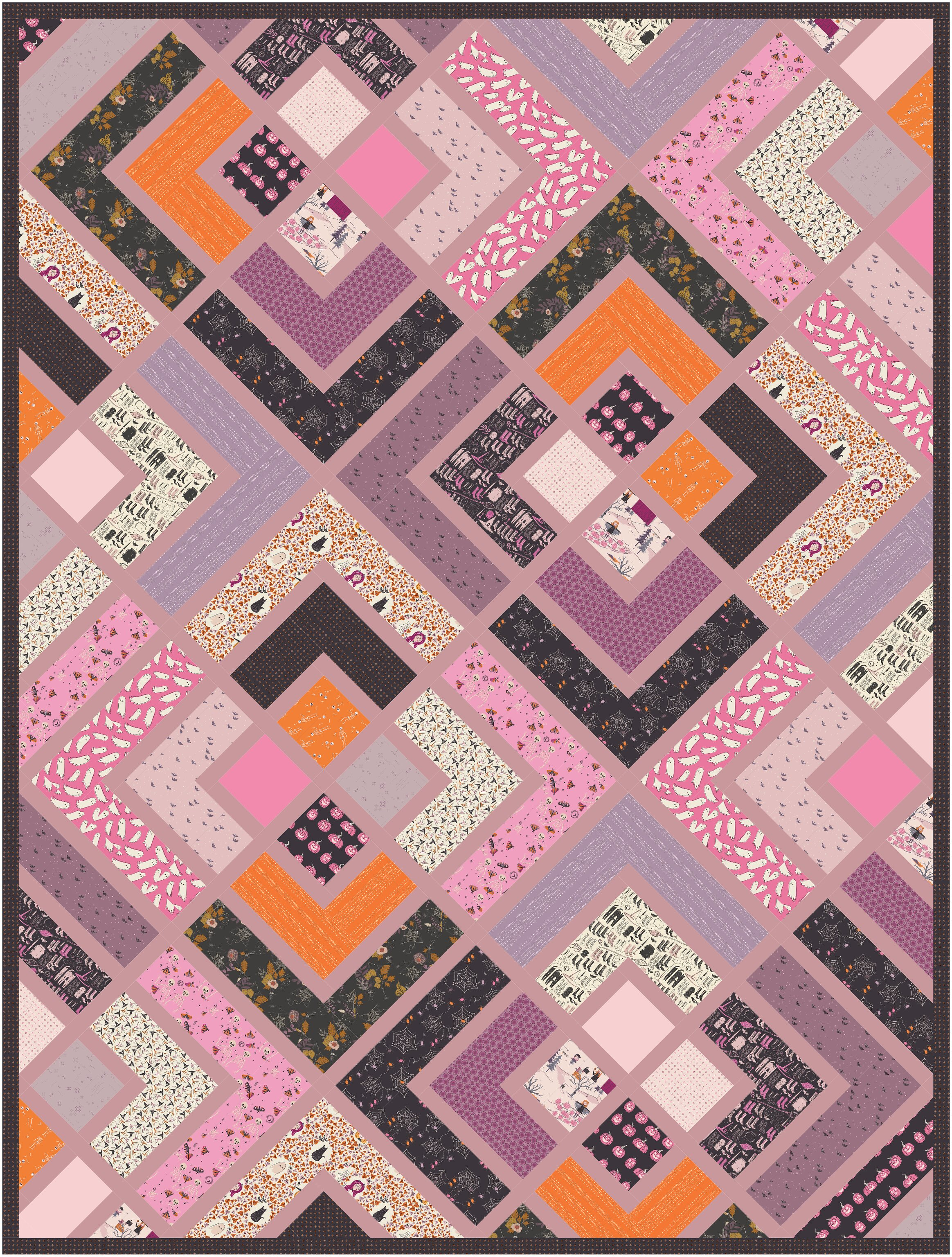The Penny Quilt - Spooky
