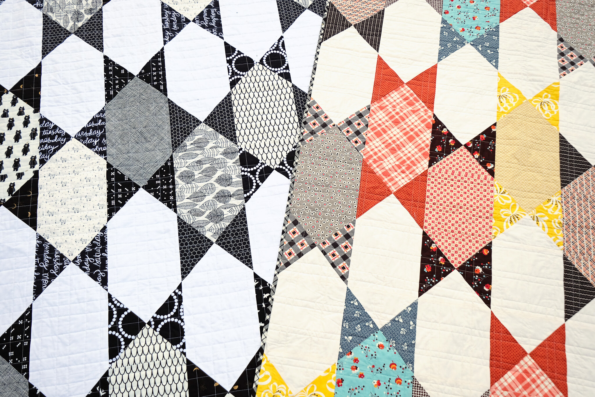 Two Abigail Quilts - Kitchen Table Quilting