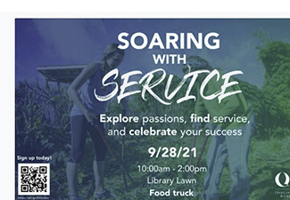 SOARING WITH SERVICE