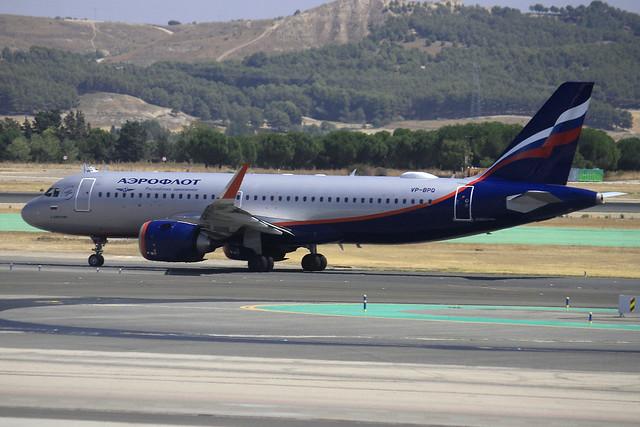 VP-BPQ. A-321N. Aeroflot. MAD.