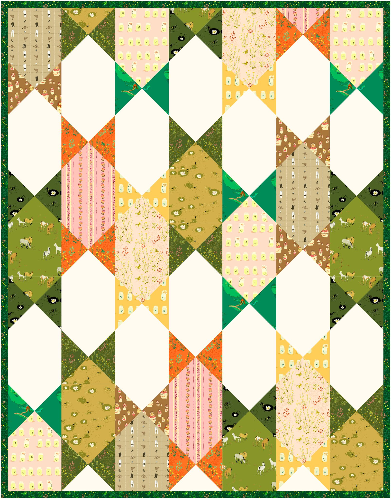 The Abigail Quilt in West Hill - Kitchen Table Quilting