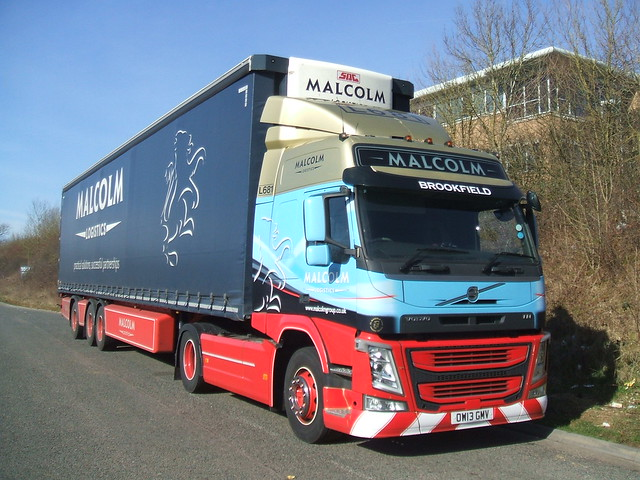 Volvo FM - Malcolm Logistics