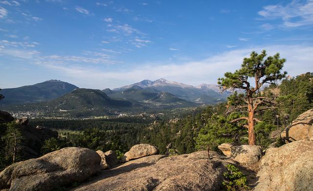Longs Peak from the Gem Lake Trail