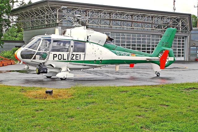 D-HOPQ   Aerospatiale SA.365C2 Dauphin 2 [5062] [German Polize] Hannover~D 23/05/2006