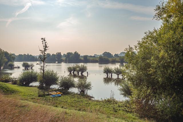 High water level in a Dutch lake