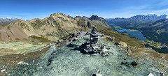 On top of Piz Lunghin