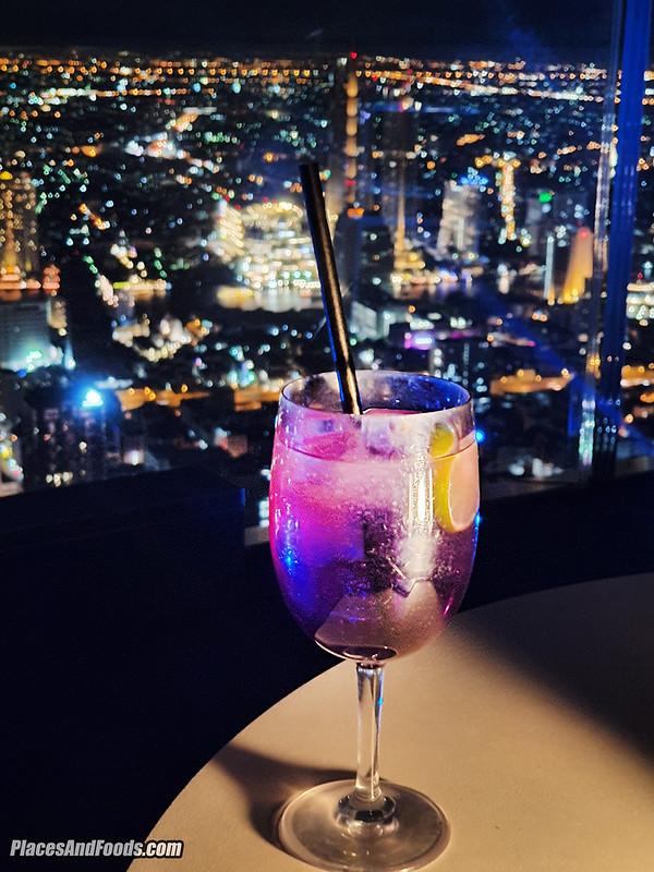 mahanakhon skybar cocktail
