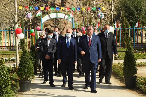 Ифтитоҳи боғчаи «Ахтарак» дар ноҳияи Рашт   22.09.2021