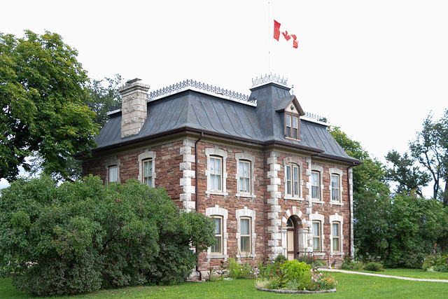 Administrative Building, Lock Canal, Sault Ste. Marie, Ontario, Canada