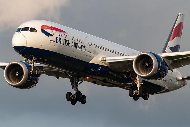 G-ZBKS British AIrways B787-9 Dreamliner London Heathrow Airport