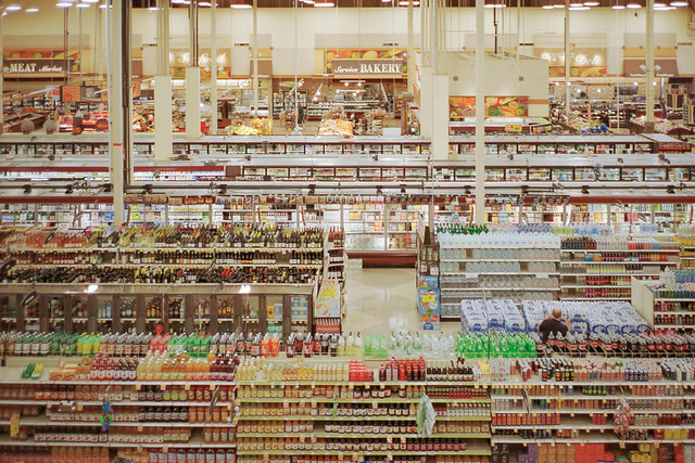 """my humble ode to Andreas Gursky's """"99 Cent II"""""""