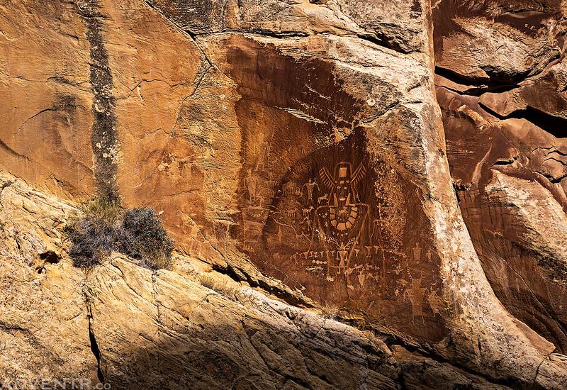 Fremont Petroglyph Panel