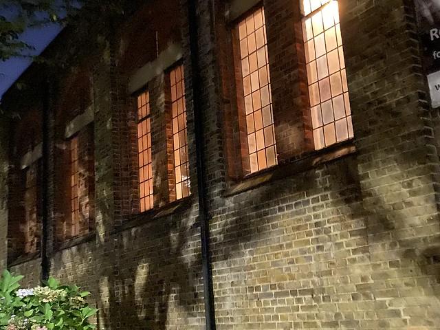 church windows at night (274/365)