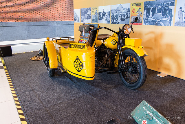 Harley-Davidson Sidecar ANWB