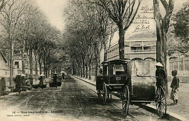 Rue Lagrandière Saigon