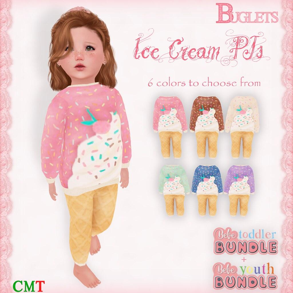 Bebe Ice Cream PJs AD