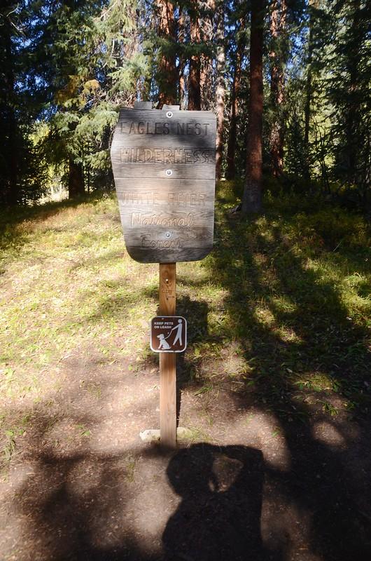 Eagles Nest Wilderness Boundary