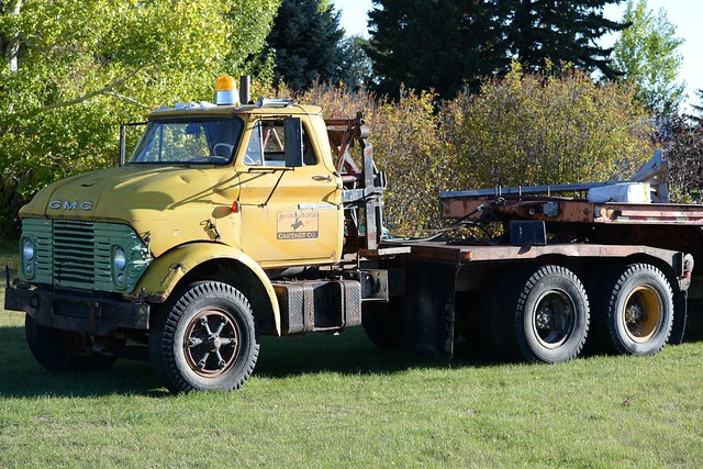 Old Transport Truck
