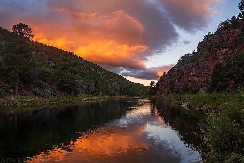 Green River Sunrise