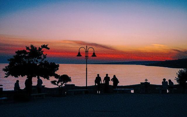 Derniers feux sur la mer Ionienne
