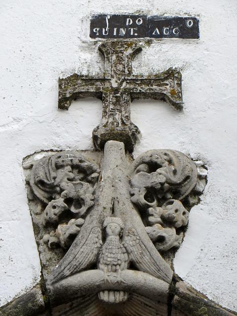 Détail au hasard des rues, Olivenza, comarque des Llanos de Olivenza, province de Badajoz, Estrémadure, Espagne.'