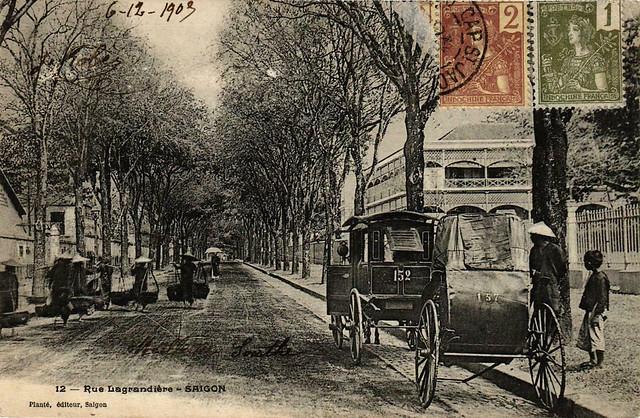 SAIGON - La Rue Lagrandière