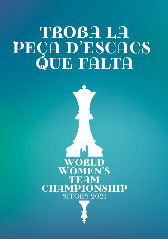 Gincana de Ajedrez – Actividad paralela del Mundial de Ajedrez Femenino Sitges 2021