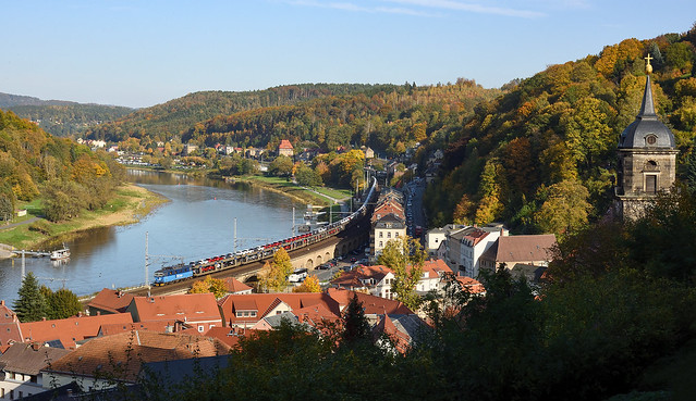 I don't know how autumn in Swiss looks like but this is autumn in Saxony - 372 011